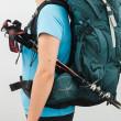 Dámský batoh Osprey Xena 85-uchycení trekových holí
