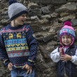 Dětská pletená Merino čepice Kama B72