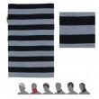 Multifunkční šátek Sensor Tube Merino Wool černá pruhy