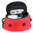 Kufr LittleLife Ladybird-otevřený