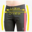 Pánské kalhoty Axon Hurricane-rozdíl ve velikosti L a L+