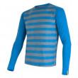 Pánské triko Sensor Merino Wool Active modré pruhy