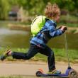 Dětský batoh LittleLife Hi-Vis Toddler ActionPak Dinosaur