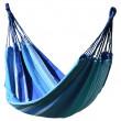 Houpací síť Cattara Textil-modro bílá