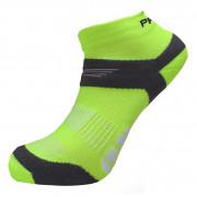 Ponožky Progress RNS 8JB Running Sox žlutá/šedá