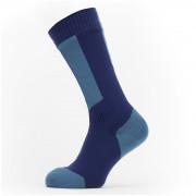 Nepromokavé ponožky SealSkinz WP Cold Weather Mid Lenght + Hydrostop