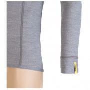 Pánské triko Sensor Merino Wool Active d.r.-detail manžety-šedé