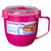 Hrnek Sistema Microwave Large Soup Mug Color