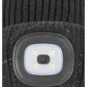 Čepice Sealskinz Cold Weather LED Roll Cuff