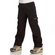 Dětské kalhoty Regatta Winter SShell Trs-černé_čelní pohled