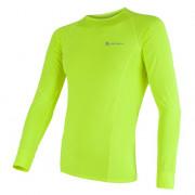 Pánské funkční triko Sensor Coolmax Fresh dl.rukáv žlutá