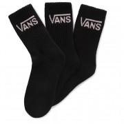 Ponožky Vans Wm Classic Crew WMNs 6.5-10 3Pk