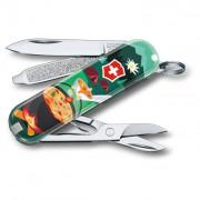 Kapesní nůž Victorinox Classic LE Swiss Mountain Dinner