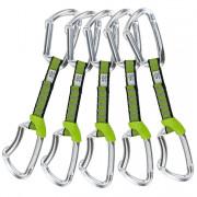 5x Horolezecké expresky Climbing Technology Lime NY 12cm silver