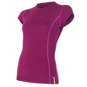 Dámské triko Sensor Merino Wool Active kr.r. fialová