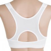 Podprsenka Sensor Lissa bílá-zadní pohled