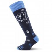 Dětské ponožky Lasting SJW - černo/modré