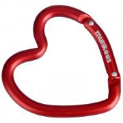 Klíčenka Munkees karabina ve tvaru srdce