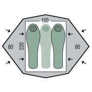 Stan Pinguin Gemini 150 Extreme pudorys