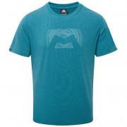 Pánské tričko Mountain Equipment Groundup Logo+ Tee - tasman blue