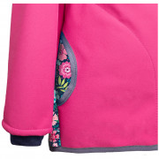 Dětská softshellová bunda s fleecem Unuo vzor