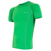 Pánské triko Sensor Coolmax fresh-barva zelená