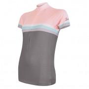 Dámský cyklistický dres Sensor Cyklo Summer Stripe
