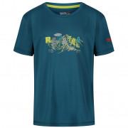 Dětské triko Regatta Alvarado IV Sea Blue