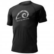 Pánské funkční tričko Lasting Meril černé