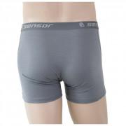 Pánské boxerky Sensor Merino Wool Active šedé