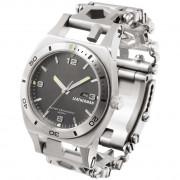 Náramek s hodinkami Leatherman Tread Tempo Silver