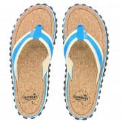 Žabky Gumbies Corker Natural Cork - Blue