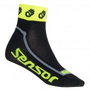 Ponožky Sensor Race Lite Ručičky reflex žlutá