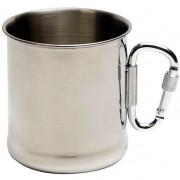 Hrnek Bo-Trail Mug Stainless Steel s karabinou