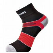 Ponožky Progress CYC 8CE Cycling černá/červená