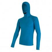 Pánské funkční triko Sensor Merino DF s kapucí modrá
