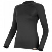 Dámské funkční triko Lasting Atila dl.rukáv černé