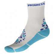 Dětské ponožky Progress Kids Summer Sox 26PS bílá/modrá