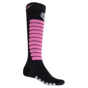 Ponožky Sensor Zero Merino černá/fialová