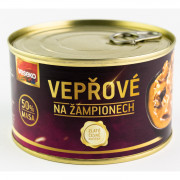 Vepřové na žampionech Veseko 400 g