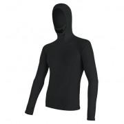 Pánské funkční triko Sensor Merino DF s kapucí černá