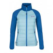 Dámská bunda Kilpi Baffin-w modrá z předu