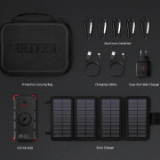 Set solární nabíječky a powerbanky Outxe W20 Outdoor Charger Kit