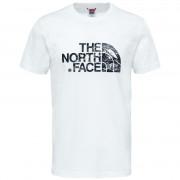 Pánské triko The North Face Woodcut Dome Tee-Eu