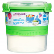 Box na potraviny Sistema Round Lunch Stack TO GO 965ml