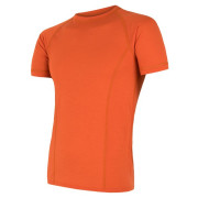 Pánské funkční triko Sensor Merino Air kr.rukáv oranžová