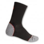 Ponožky Sensor Hiking Bambus černá-červená