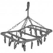 Sušák na prádlo Bo-Camp Drying carousel foldable 24
