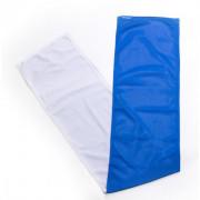 Šátek N-Rit Cool Towel bílá/modrá
