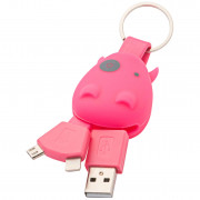 Munkees USB Klíčenka Smart Charger
